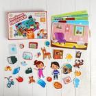 Игра на липучках, конструктор «Мой дом» , Весёлые липучки - фото 105527271