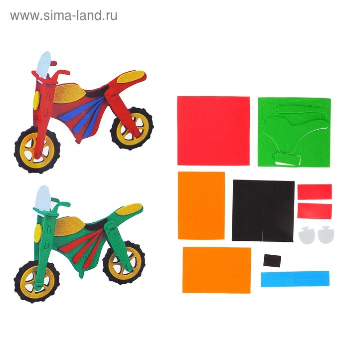 "Аппликация 3D ""Мотоцикл"" (набор 2 шт)"