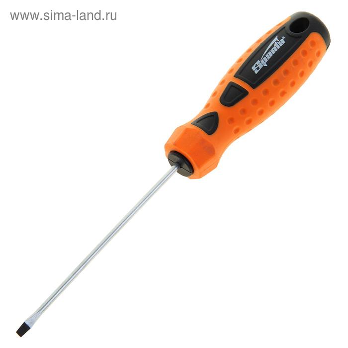 """Отвертка """"Point"""", SL3,0 х 100 мм, CrV, 2-х компонентная рукоятка"""