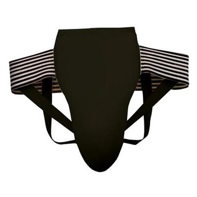 Защита паха, размер L, цвет черный