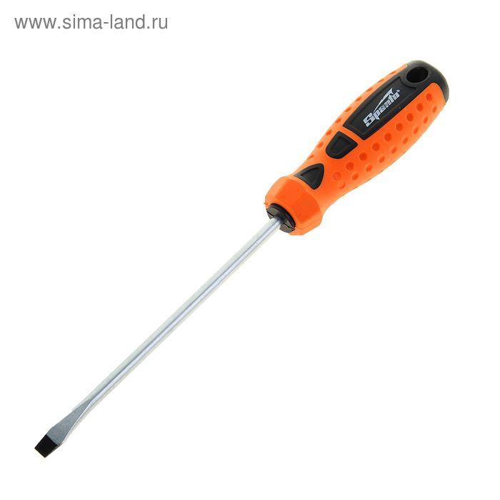 """Отвертка """"Point"""", SL6,0 х 150 мм, CrV, 2-х компонентная рукоятка"""