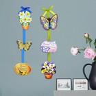 """Ароматизированная интерьерная подвеска на ленте """"Цветы"""""""