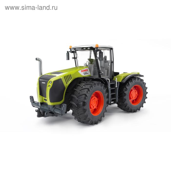 """Трактор """"Claas Xerion 5000"""" с поворачивающейся кабиной"""