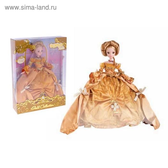 """Кукла """"Роскошное золото"""" Золотая коллекция"""