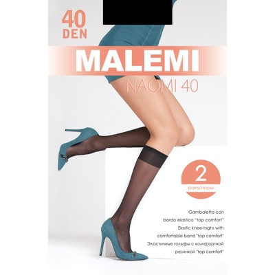 Гольфы MALEMI Naomi 40 2 пары, цвет телесный (melon)