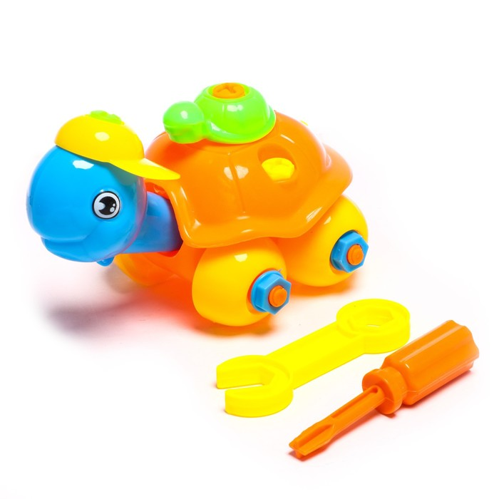 Конструктор для малышей «Черепашка», 25 деталей, цвета МИКС - фото 634517