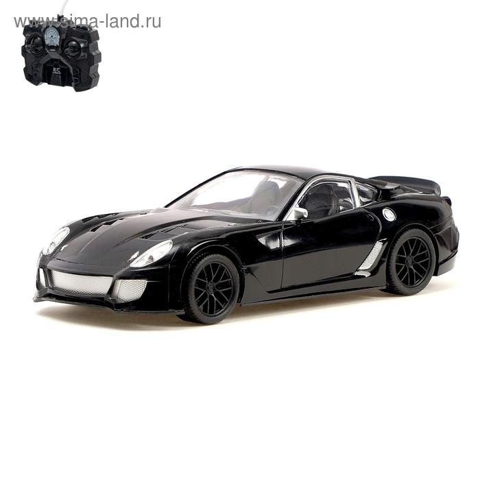 """Машина радиоуправляемая """"Спорткар"""", работает от батареек, масштаб 1:16, цвета МИКС"""