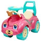 Толокар «Кошечка», с гудком-пищалкой, цвет розовый - фото 105642678