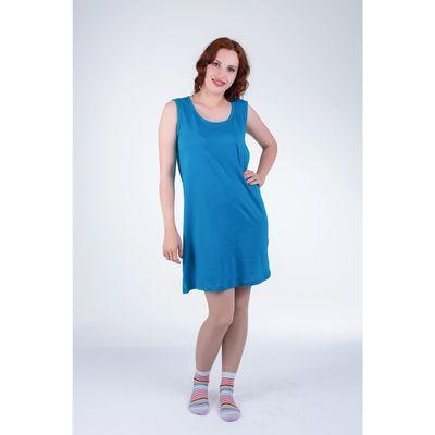 Сорочка женская 14С25, размер 46, цвет индиго МИКС