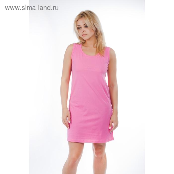 Сорочка женская 14С25, размер 44, цвет малиновый
