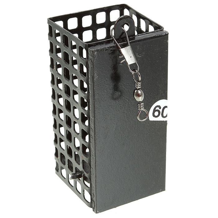 Кормушка для фидера квадратная сетка, 60 г