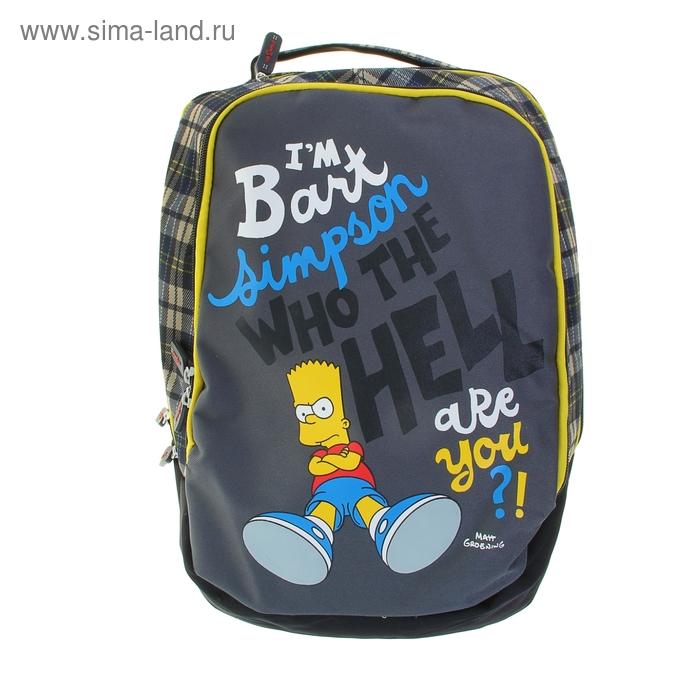 Рюкзак молодежный The Simpsons 41*28*17 см, 1 отделение на молнии
