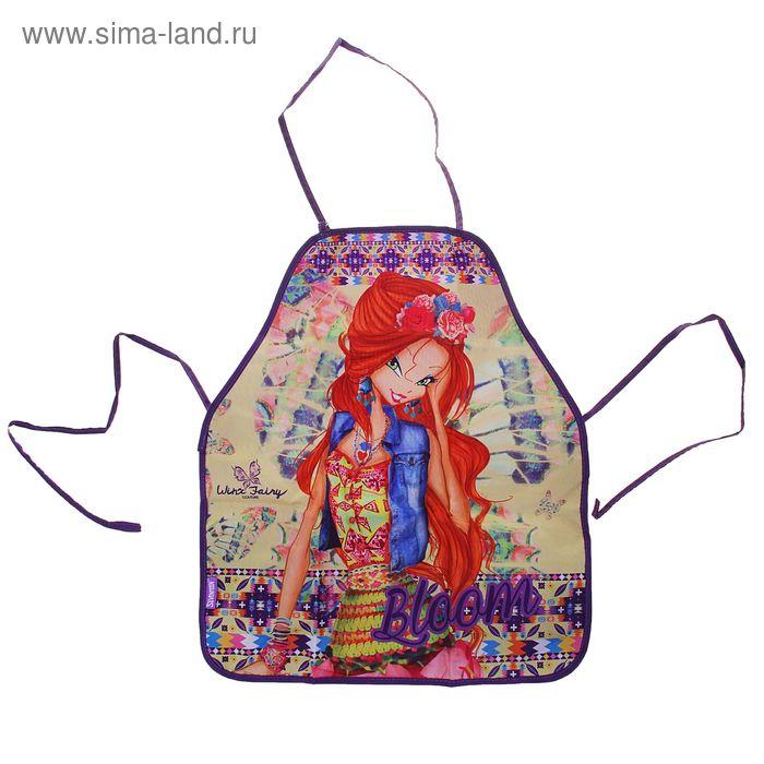 Фартук для труда для девочки Winx Fairy детский 510*440