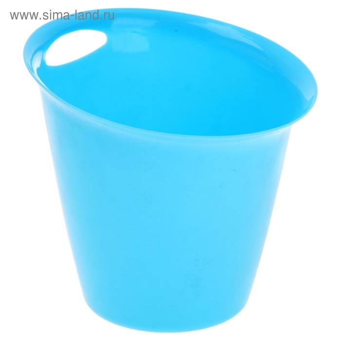 Ведро для мусора 17*17*16 см, цвета МИКС