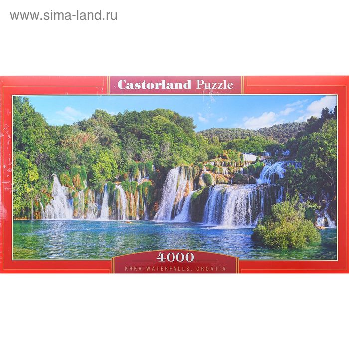 "Пазл ""Водопады Крка. Хорватия"", 4000 элементов"