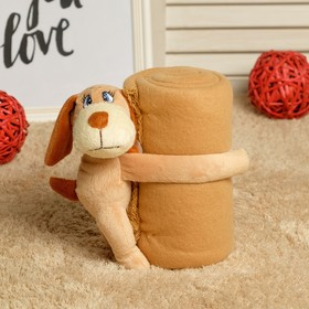 """Набор подарочный для новорождённых """"Этелька"""" 2 пр Милашка-обнимашка, размер 75х100 см"""
