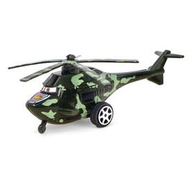 Вертолёт инерционный «Спецназ», цвета МИКС