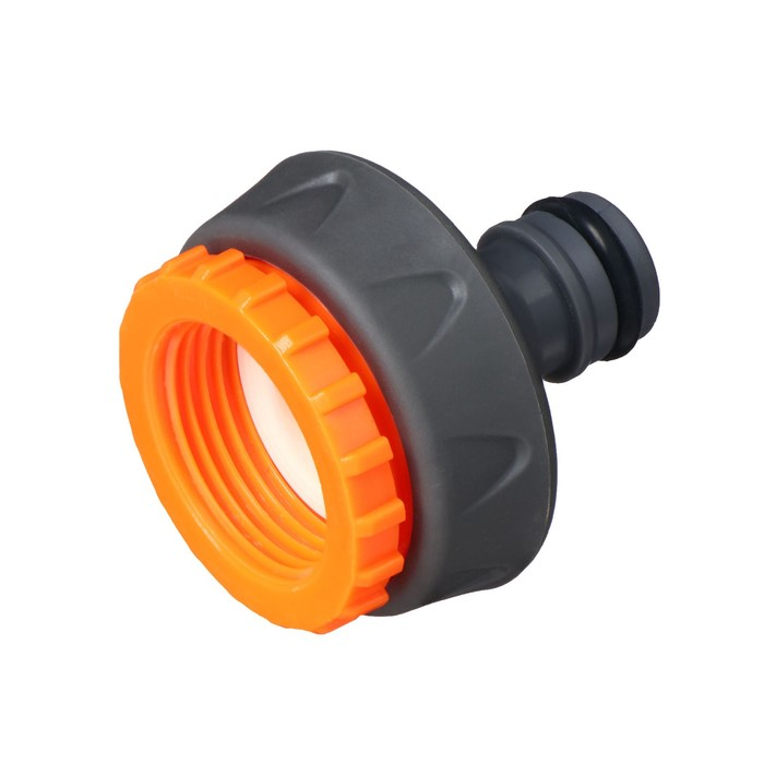"""Коннектор стартовый, d=3/4""""-1"""" (19 - 25 мм), ABS-пластик, обрезиненный"""