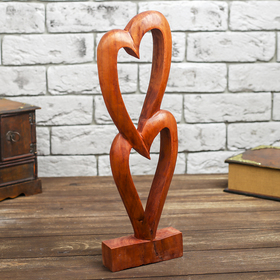 "Souvenir ""Two hearts"", 40 cm"