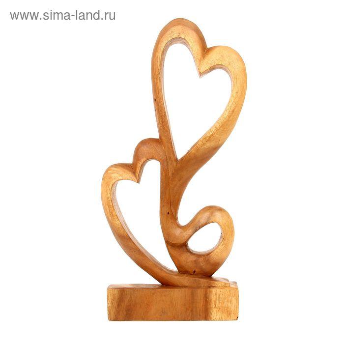 """Сувенир """"Два сердца"""", 40 см"""