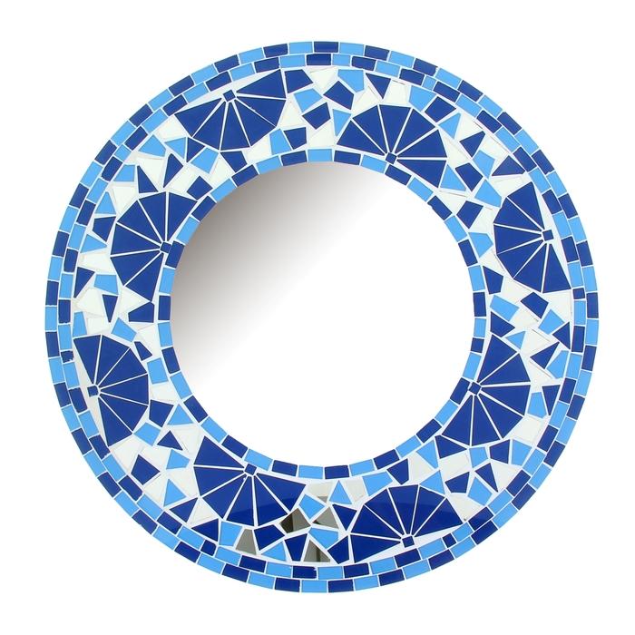 """Зеркало """"Голубой круг"""""""