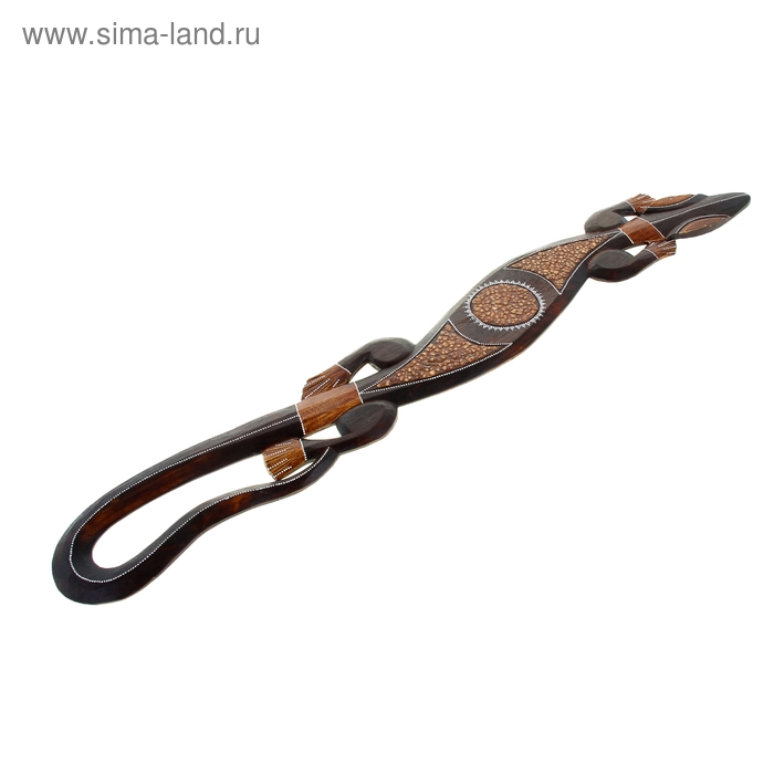 "Панно ""Хитрый геккон"", 100 см"