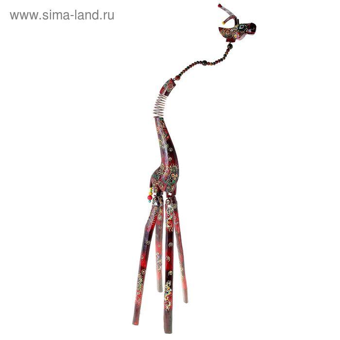 """Сувенир """"Большой друг — жираф"""" на пружинке"""