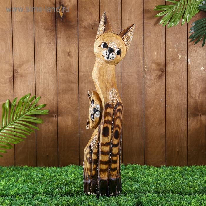 """Сувенир """"Кошка с котенком"""", 65 см"""