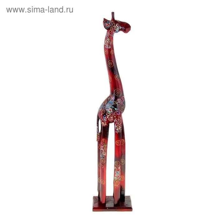 """Сувенир """"Жираф"""" расписной"""