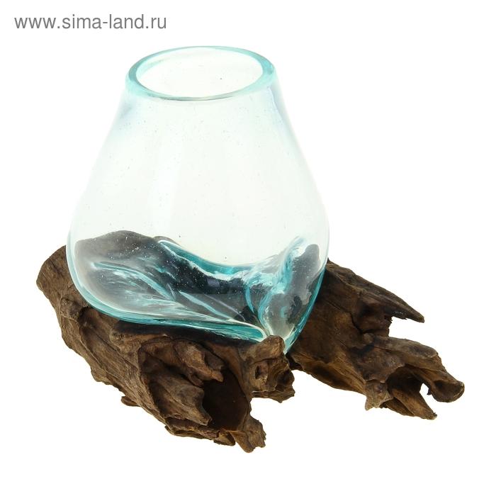 """Вазон на корне """"Источник"""" мини МИКС"""