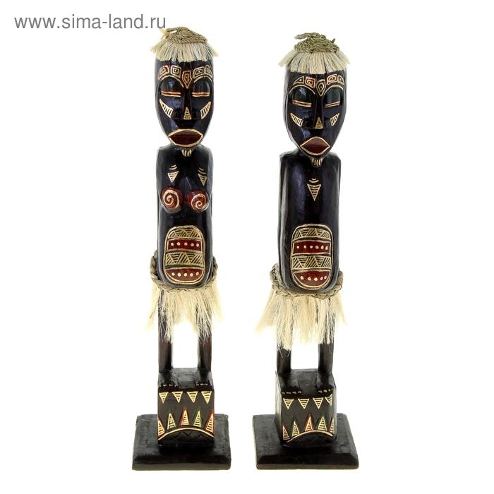 """Набор сувениров """"Древние аборигены"""", 2 шт"""