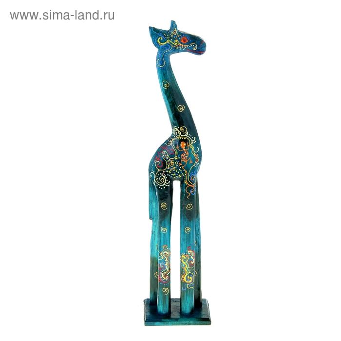"""Сувенир """"Жираф"""" цветная роспись"""