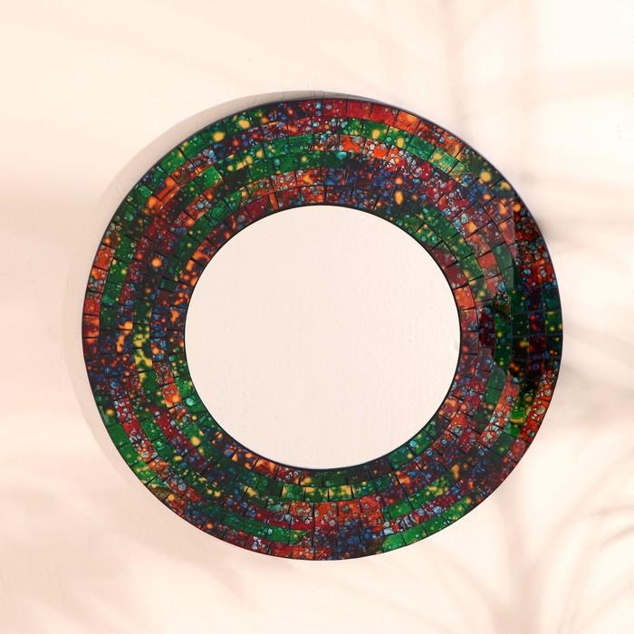 """Зеркало """"Яркий круг"""" - фото 881636"""