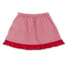 """Юбка для девочки """"Вишенка"""", рост 92 см (54), цвет красная клетка"""