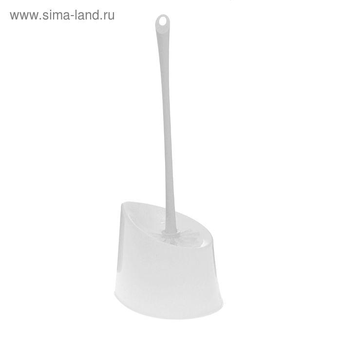 """Ерш для унитаза с подставкой """"Ориджинал"""", цвет белый"""