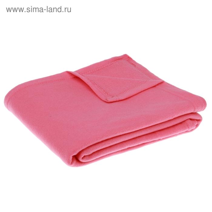 "Плед ""Collorista"" розовый 150*200 см, 100% п/э, флис, 140 гр/м2"