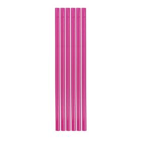 """Клей для клеевого пистолета """"Розовый"""", d = 7 мм, (набор 6 шт.)"""