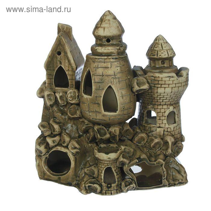 """Декорации для аквариума """"Замок средний"""" микс"""