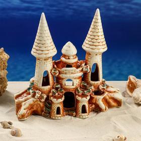 "Декорации для аквариума ""Замок"", микс"