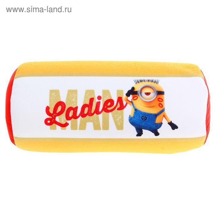 Мягкая игрушка- антистресс валик «Гадкий Я»