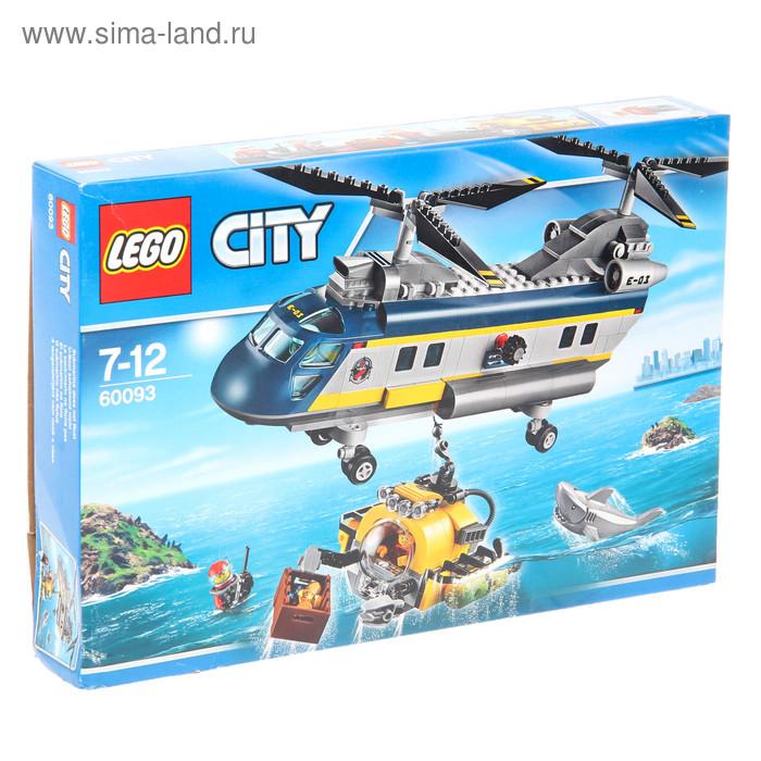 """Конструктор """"Город. Вертолет исследователей моря"""", 388 деталей"""
