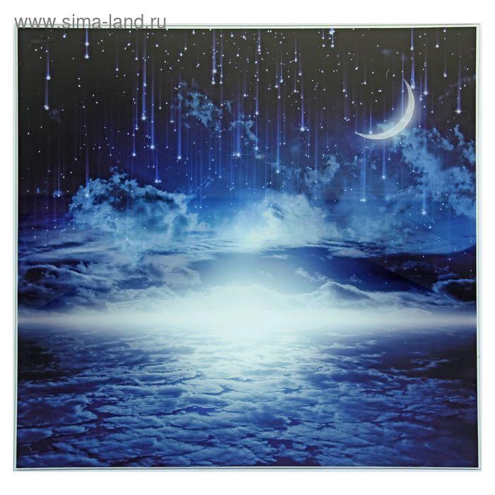 """Картина на стекле """"Звёздный дождь"""""""