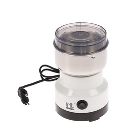 Кофемолка электрическая Irit IR-5016, 120 Вт, 85 г, белая Ош