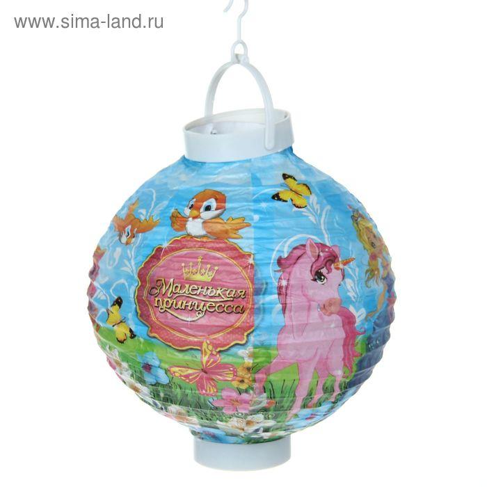 """Фонарик китайский декоративный """"Маленькая принцесса"""""""