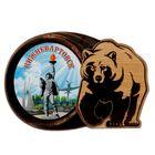 Магнит в форме медведя «Нижневартовск»