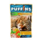 """Влажный корм """"Puffins"""" для кошек, сочные кусочки курицы в желе, 100 г"""