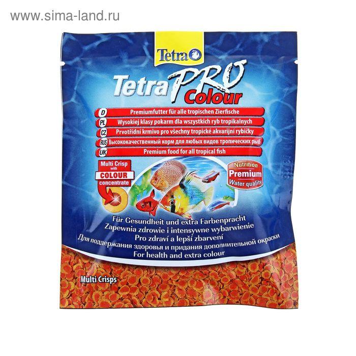 Корм для рыб TetraPro Colour, 12 гр