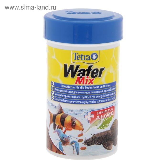 Корм для рыб TetraWaferMix  таблетки, 100 мл