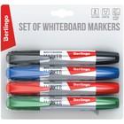 Набор маркеров для доски 4 цвета, Berlingo 2.0 мм, BMc_40509 - фото 2128559