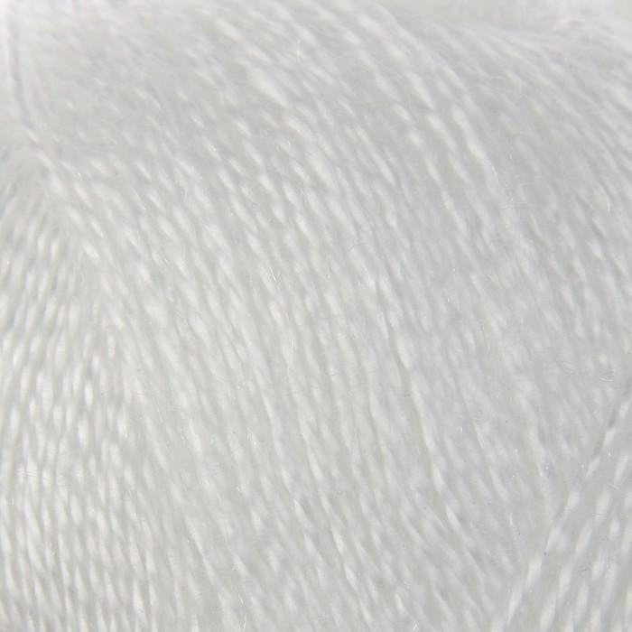"""Пряжа """"Шелковый блеск"""" 100% лиоцель(вискоза/эвкалипт) 400м/100гр (0230, отбелка)"""